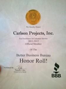 Thanks better business bureau!