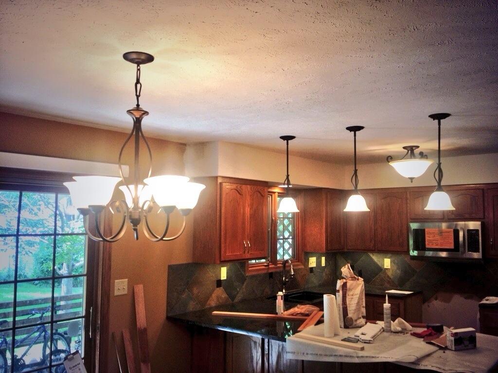 Remodel lighting