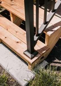 Sheridan Neighborhood Backyard Deck