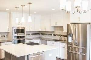 Bright Kitchen Remodel Stainless Steel