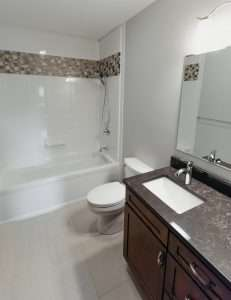 bright bathroom remodel
