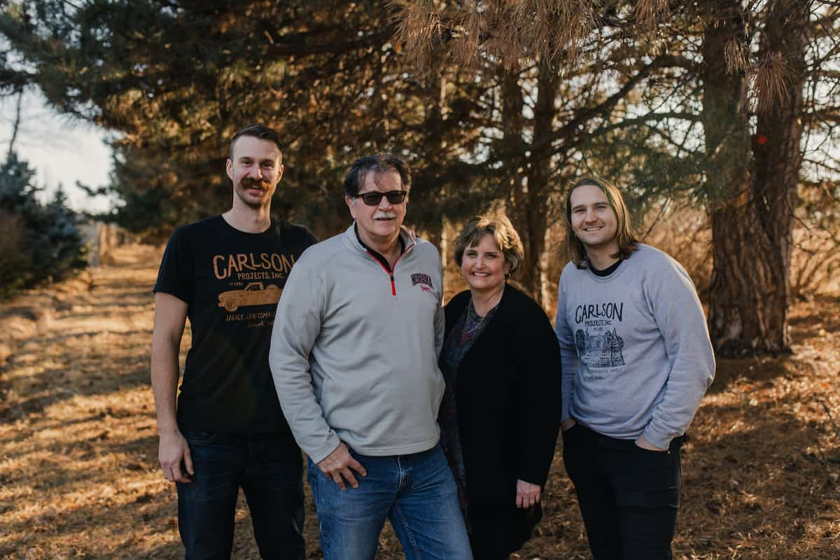 Lincoln Remodeling Contractors Family Photo